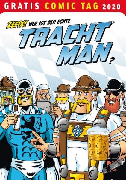 Gratis Comic Tag 2020: Tracht Man (05/20)