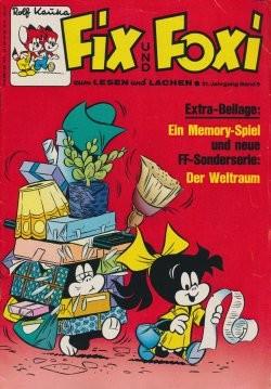 Fix und Foxi (Pabel, Gb.) 21. Jhrg. mit Beilage Nr. 6-49