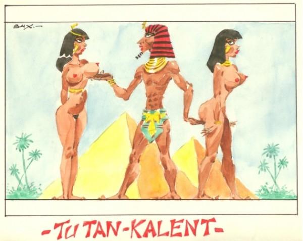 Originalzeichnung Erotische Pin-ups (Bild 131)