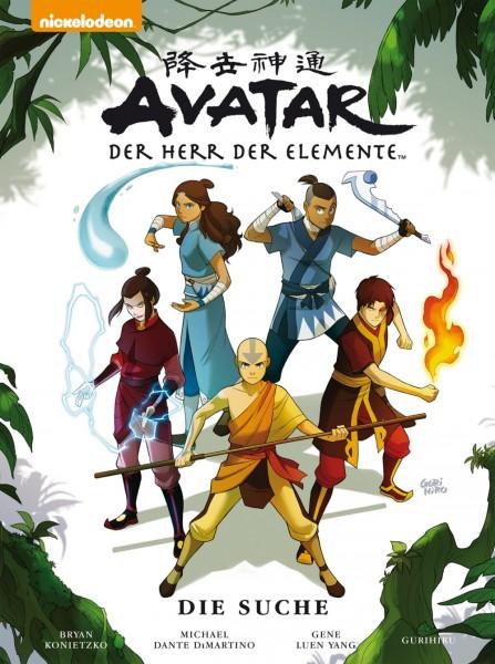 Avatar (Crosscult, B.) Der Herr der Elemente - Premium Hardcover Nr. 1-4 zus. (Z1)