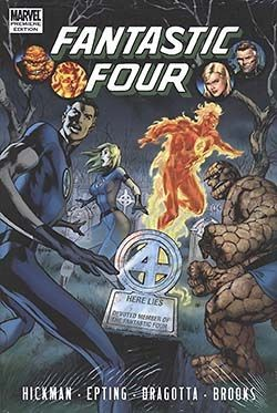 US: Fantastic Four by Jonathan Hickman Vol.4 HC