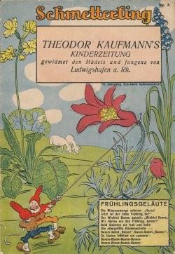Schmetterling (Mielke & Co, Gb., VK.) 11. Jahrgang Nr. 1-24 Vorkrieg