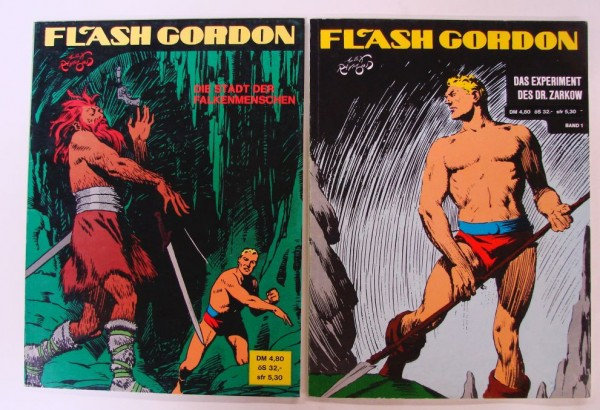 Flash Gordon (Pollischansky, Br.) Nr. 1-15 kpl. (Z0-2)