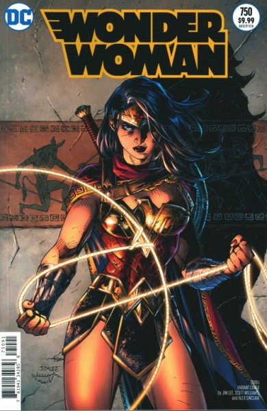 US: Wonder Woman 750 2010s Variant (Jim Lee, Scott Williams and Alex Sinclair)