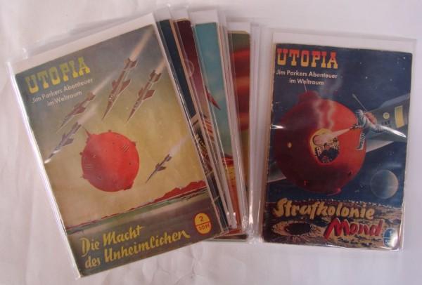 Utopia (Pabel) kpl. Nr. 1-596 kpl. (Z2-3)