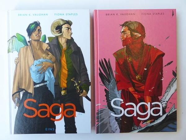 Saga (Crosscult, B.) Nr. 1-9 zus. (Z1)