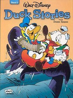 Duck Stories von Daan Jippes (Ehapa, Br.) Nr. 1-5 kpl. (Z1-2)