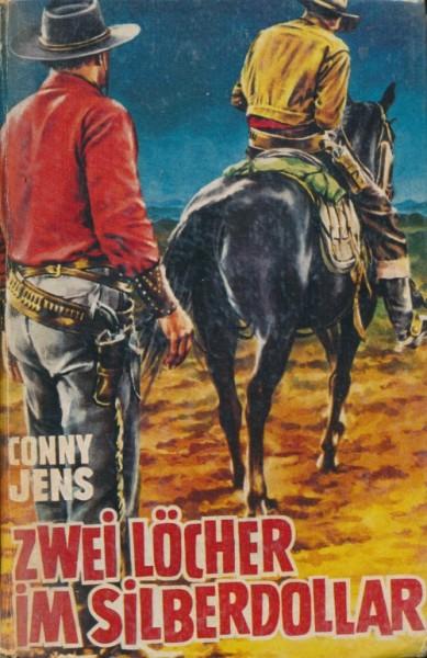 Jens, Conny Leihbuch Zwei Löcher im Silberdollar (Saba)