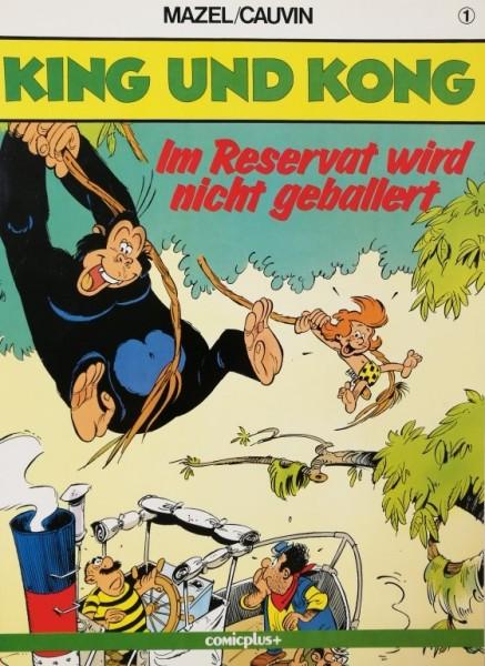 King und Kong (Comicplus, Br.) Nr. 1-6 kpl. (Z2)