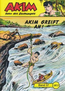 Akim Sohn des Dschungels Großband 37
