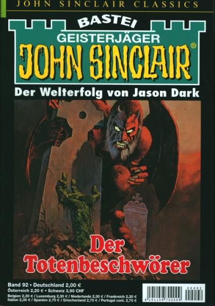 John Sinclair Classics 92