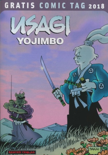 Gratis Comic Tag 2018: Usagi Yojimbo