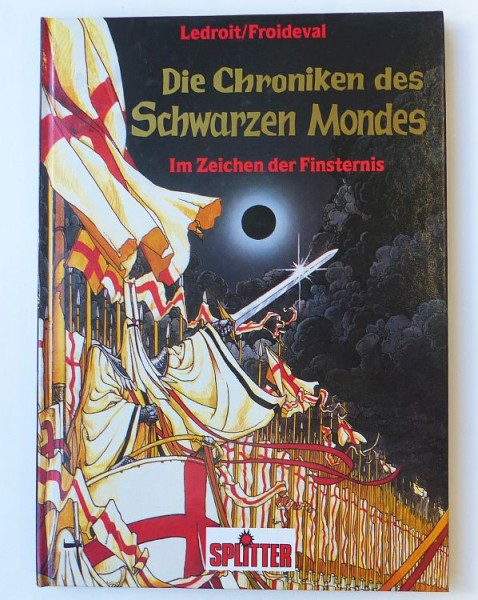 Chroniken des Schwarzen Mondes (Splitter, B.) Nr. 1-8 kpl. (Z1)