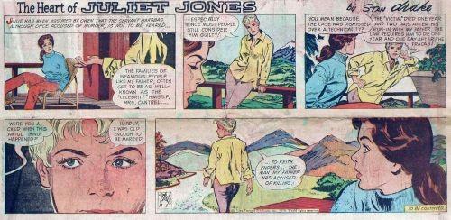 Zeitungsstrip (0885) The Heart of Juliet Jones