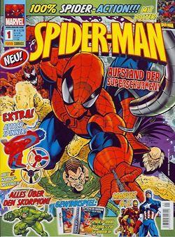 Spider-Man Magazin (Panini, GbÜ.) Nr. 1-10