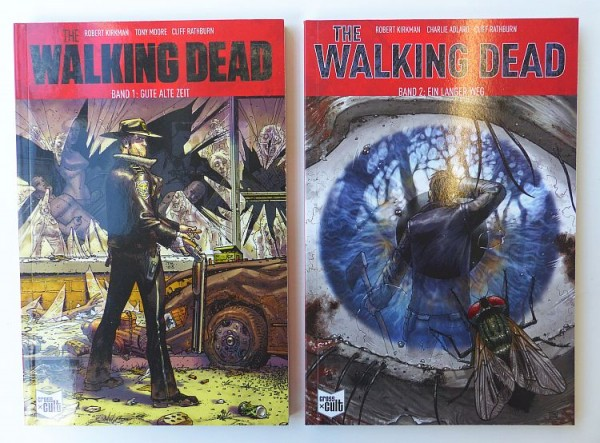 Walking Dead (Crosscult, Br.) Softcover Nr. 1-14 zus. (Z1)
