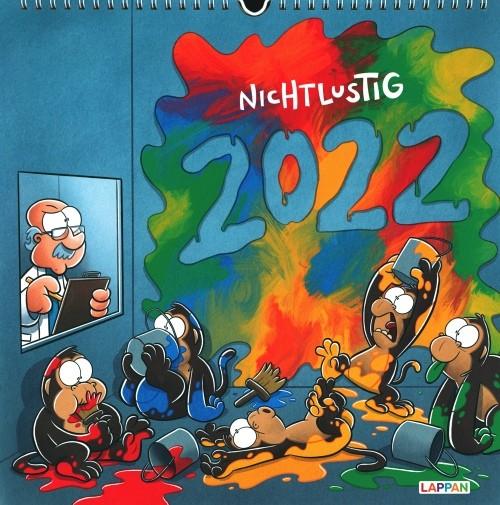 Nicht Lustig Wandkalender 2022