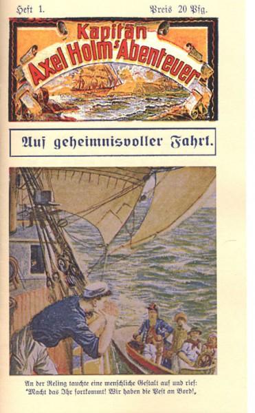 Kapitän Axel Holm (Romanheftreprints) Nr. 1-18 (neu)