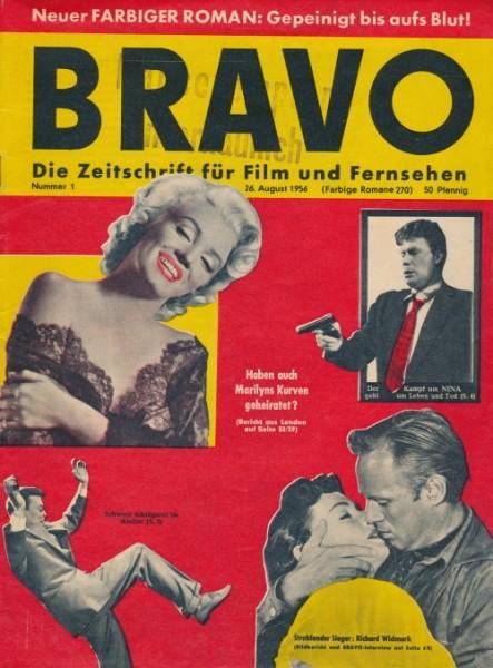 Bravo Jahrgang 1956 Nr. 1-19