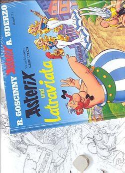 Asterix und Latraviata Skizzenbuch