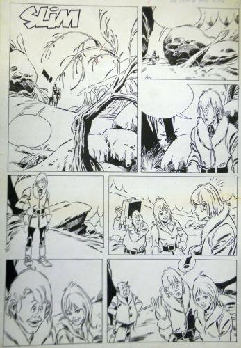 Originalzeichnung (0632) 6 Seiten zus.