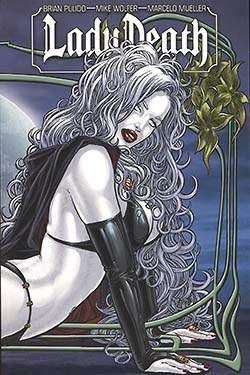 Lady Death Paperback 1 Variant