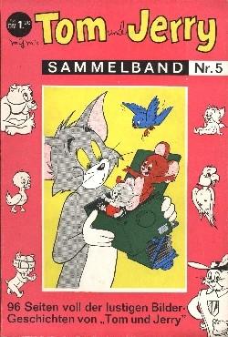 Tom und Jerry Sammelband Neuer Tessloff/Moewig Nr. 1-8