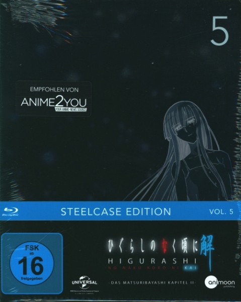 Higurashi Kai Vol. 5 Steelcase Edition Blu-ray